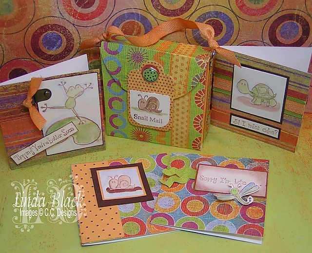 Froggie and Friends - C.C. Designs