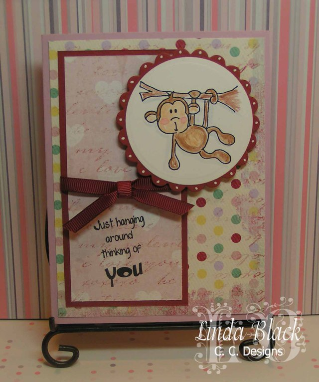 Monkey Love - C.C. Designs