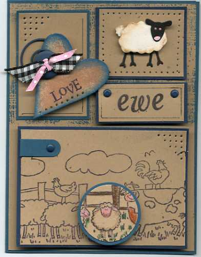 Stampin' Up! Farmyard Jumbo Wheel