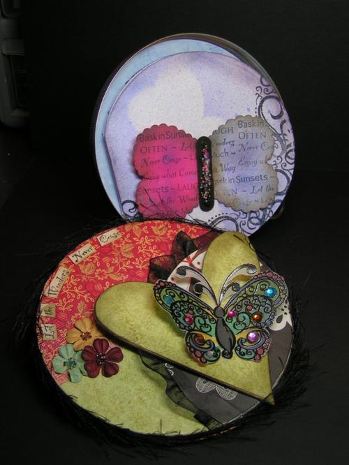 Altered Tin - Inside Mini Album