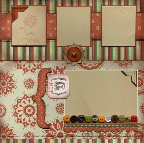 Scrapbook layouts over 130 stampin 39 up apple cider paper page 1 - Scrapbooking idees pages ...