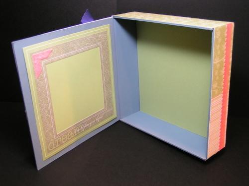Inside of Cigar Box